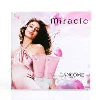 Набор Lancome Miracle Perfumed Body Lotion + Bath and Shower Gel 300ml