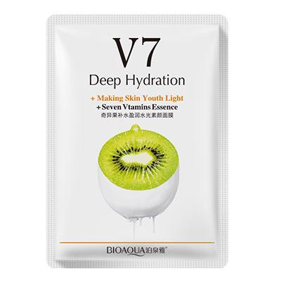 Маска для лица Bioaqua V7 Deep Hydration 30g с экстрактом киви