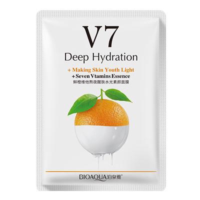 Маска для лица Bioaqua V7 Deep Hydration 30g с экстрактом апельсина