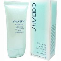 Пилинг для лица Shiseido Green Tea 60ml