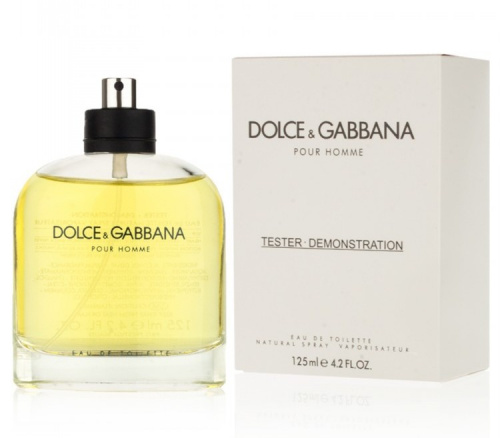 Tester Dolce & Gabbana Pour Homme