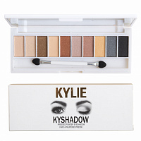 Палитра теней Kylie Kyshadow Pressed Powder Eyeshadow 10 оттенков