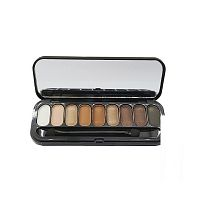 Палитра теней Huda Beauty Textured Shadows Palette 9 оттенков 22g